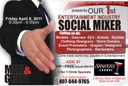 Entertainment Industry Mixer