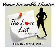 The Love List by Norm Foster, Venue Ensemble Theatre