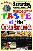 Taste of The Cuban Sandwich
