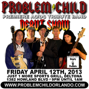Problem Child AC/DC Tribute DEBUT SHOW!