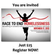 5K Race To End Homelessness -Orlando