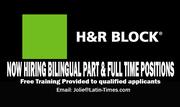 H & R Block Bilingual Job Fair