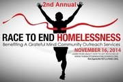 RACE To End Homelessness 5K Run-Walk-Jog!