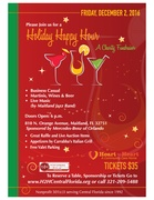Holiday Happy Hour: a Charity Fundraiser