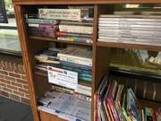Ribbon Cut Little Free Library Easy Access Women's Health Clinic