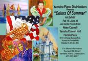 "Yamaha Piano Distributors presents: ""Colors of Summer"""