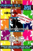 STICKY FINGERS: the iconic art show presented by FOi and CAF