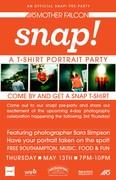 snap! T-shirt Portrait Party