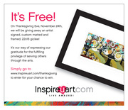 InspireUart's First Ever Thanksgiving Giveaway!