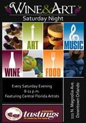 Wine & Art Saturday Nights
