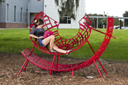 EXHIBIT ENDS 9/30/12 -- UCF has a new public Art Installation!