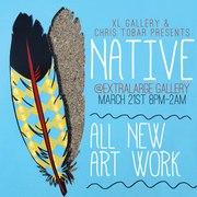 Native - Artwork by Chris Tobar Rodriguez