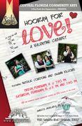 Central Florida Community Arts Spotlight Series for February: Hooray for Love!, starring Natalie Cordone and Shawn Kilgore