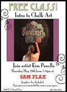 Sam Flax's Intro to Chalk Art