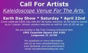 Call For Artists and Vendors - Earth Day Celebration