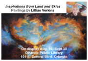 """""""Inspirations from Land and Skies""""-The Art of Lillian Verkins"""