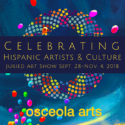 CALL FOR ARTISTS! Deadline July 31 : Celebrating Hispanic Artists and Culture-Juried Art Show