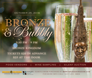 Bronze and Bubbly - Wine Tasting and Silent Auction