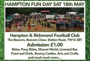 HAMPTON FUN DAY - Saturday 18th May