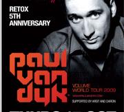 RETOX PRES. THE 5th ANNIVERSARY with PAUL VAN DYK!