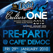 Pre Party Culture ONE 2010