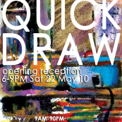 QUICK DRAW Painting & Sketchbook Exhibition