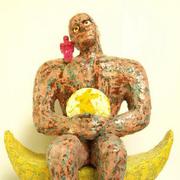 นิทรรศการศิลปะ ผู้ชายกับพระจันทร์