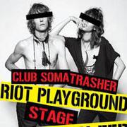 """งานปาร์ตี้คอนเสิร์ต """"CLUB SOMA + TRASHER STAGE AT CULTURE ONE 2011"""""""