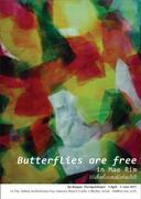 """นิทรรศการจิตรกรรม """"ผีเสื้อทั้งผองยังท่องไป"""" (Butterflies Are Free)"""