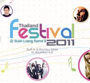 """Thailand Festival 2011"" เทศกาลดนตรีนานาชาติ"