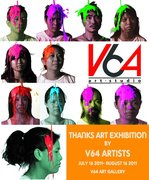 Thanks Art Exhibition by V64 Artists