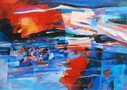 """นิทรรศการ """"ลีลาแห่งสีสัน"""" (Motion of colours)"""