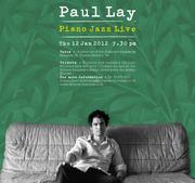 """การแสดง """"Piano Jazz concert"""" by Paul Lay"""