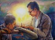 """นิทรรศการ """"พุทธศิลปกรรม 2012 มจร.ชม."""""""
