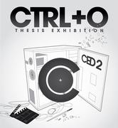 """นิทรรศการ """"Ctrl + O Presented"""" by CED"""