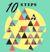 """นิทรรศการ """"10 steps"""""""