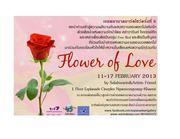 """นิทรรศการ """"Flower of Love"""""""