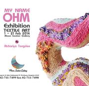 """นิทรรศการ """"My name OHM"""""""