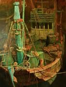 """นิทรรศการ """"เรือประมง"""" (fishing boat)"""