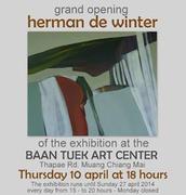 """นิทรรศการศิลปินร่วมสมัย """"Herman De Winter"""""""