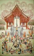 """นิทรรศการ """"King and Buddhism Lanna Art"""""""