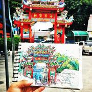 """นิทรรศการ """"The Journey of Suriya & Postcard Art Exhibition"""""""