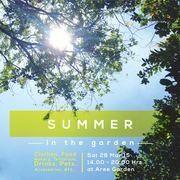 """งาน """"Summer In The Garden"""""""