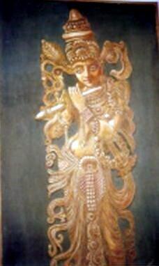 Krishna Sand and oil work