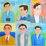 """นิทรรศการ """"ศิลป์วิจิตรคิดถึงพ่อ"""" (In memory of His Majesty the King Bhumibol Adulyadej)"""