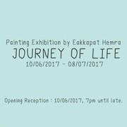 """นิทรรศการ """"บันทึกการเดินทาง"""" (Journey of Life)"""