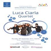 """คอนเสิร์ต """"Luca Ciarla Quartet"""""""