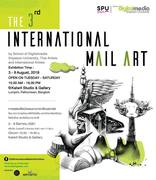 """นิทรรศการ """"การแสดงศิลปกรรมนานาชาติเมลอาร์ต"""" (The 3rd International Mail Art)"""