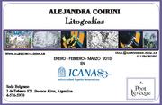 Alejandra Coirini Presenta Litografias