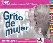 "1er. Festival Internacional de Poesia ""Grito de mujer"""